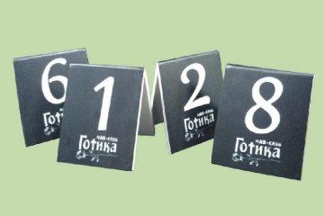 Изготовления табличек с номером